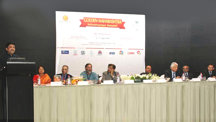 Golden Maharashtra – Infrastructure Summit, Mumbai