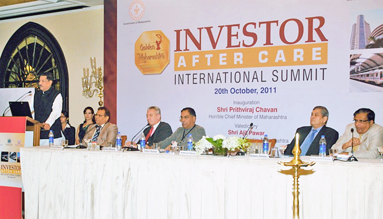 Investor After Care on 20th October 2011, at Taj Mahal, Mumbai